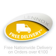 Free Nationwide Delivery on orders over Eur100